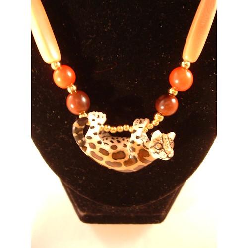 WINNER! Meet the Mystic Jaguar by Allie Thornton - Tagua bead Giveaway contest Feb 2011