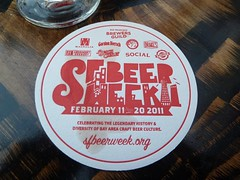 SF BeerWeek Coaster, duh.
