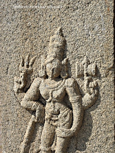 Shiva in kadalekalu temp