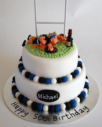 Bath Rugby Cake – Beautiful Birthday Cakes