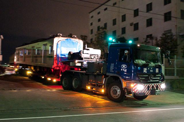 東京メトロ千代田線6000系 6115F 陸送 20110125