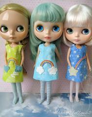 new rainbow pocket dresses