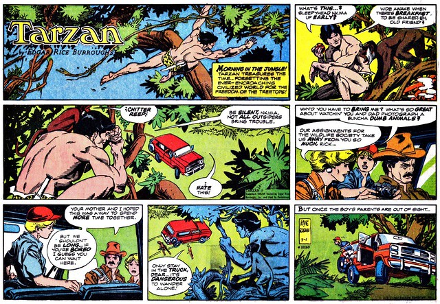 Tarzan and the Runaway by Archie Goodwin and Gil Kane July 1979