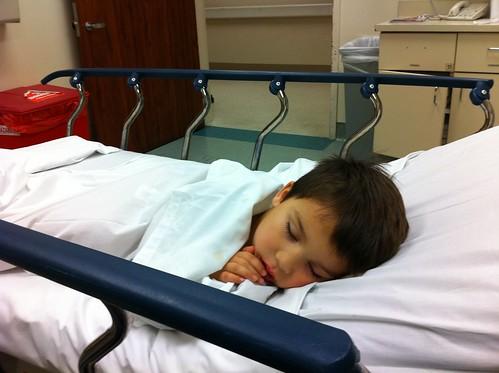 Sleepy Finn in the ER