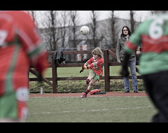 Framed (DMK.) Tags: dublin boys sport football under 11 gaelic league ballymun gaa naomh pairc kickhams ciceam barrogs