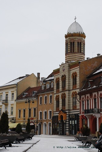 vedere din piata Sfatului, Brasov