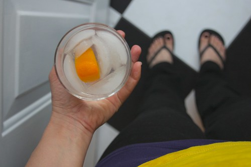 GIN/TONIC/ORANGE