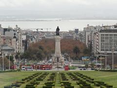 Praa Marques de Pombal (paolo_abbeys) Tags: portugal lisboa lisbon tejo lisbona portogallo parqueeduardovii tago marquesdepombal
