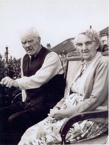 Hugh Tollan and Mrs Jane Tollan 1960s