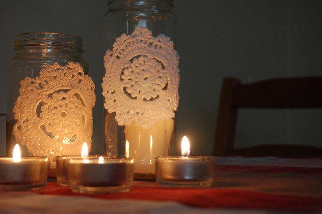 lavender and limes votives