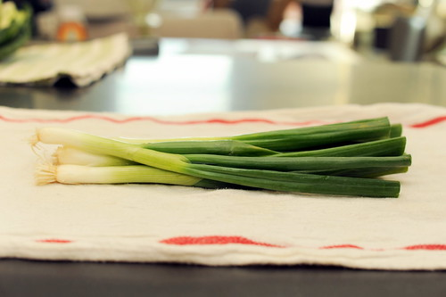 scallions for crunch