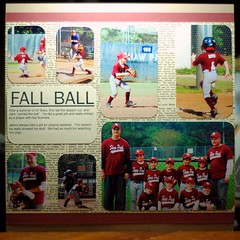 Fall Ball (Barefootstamper) Tags: scrapbook load load9