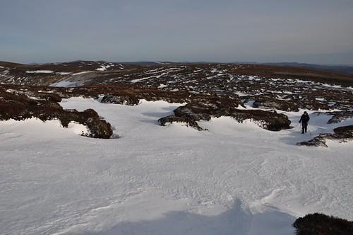Peat Hags above Dun Mor