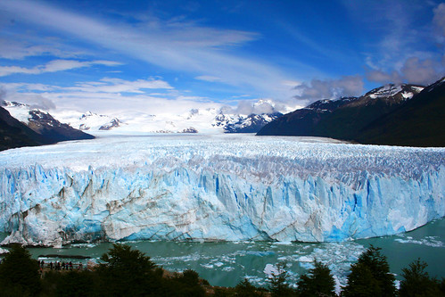 Front view of the Perito Moreno glacier, Patagonia by pclvv, http://www.flickr.com/photos/59343152@N02/with/5434101936/