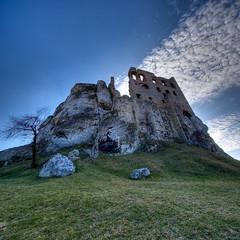 Ogrodzieniec #1 - vertorama (Mariusz Petelicki) Tags: castle ruins hdr zamek ruiny ogrodzieniec podzamcze vertorama mariuszpetelicki zamekogrodzieniec