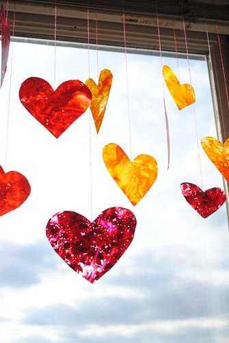 Crayon Hearts IV