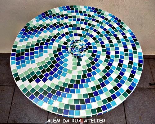 tampo em mosaico