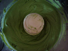 creamy avocado puree