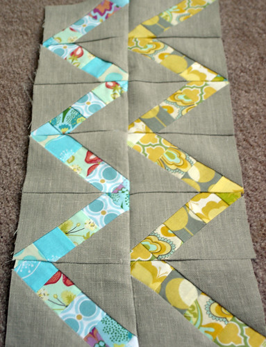 doll quilt progress