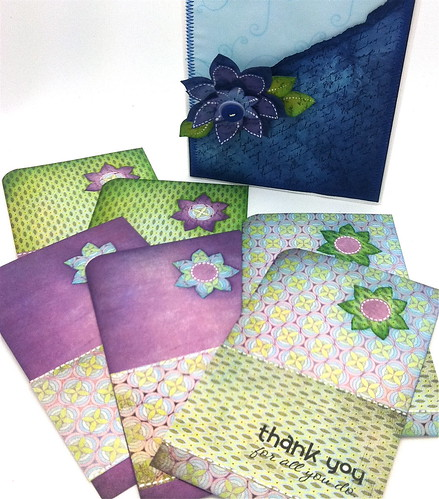 Set of 6 stationary pack