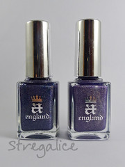 aEngland (stregalice) Tags: blue purple nailpolish holographic smalto