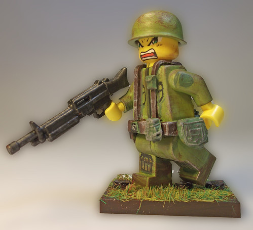 Custom minifig Modern US Soldier