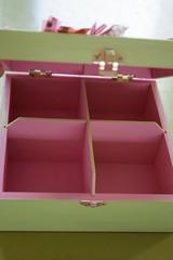 Boîte à thé intérieur