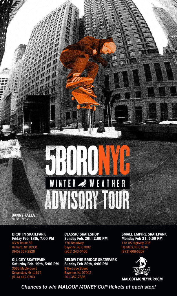 5BORO NYC ADVISORY TOUR