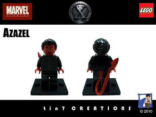 Custom minifig 72 - Azazel custom lego minifigure
