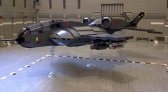 A40-C Tempest Hover (Babalas Shipyards) Tags: lego space military air craft future vtol uscm groundattack