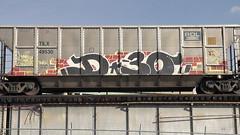 D30 (BLACK VOMIT) Tags: train graffiti ol south dirty richmond mc dos american va d30 mayhem freight wh thirty wyse aest aest2