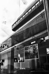 art gallery (monkeyfinger) Tags: blackandwhite london highcontrast provoke silverefexpro