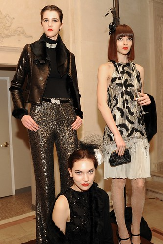 alice + olivia by Stacey Bendet Fall / Winter 2011 Presentation at The Plaza Hotel