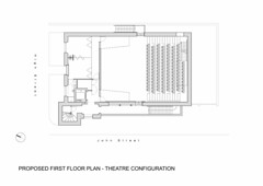Proposed First Floor Plan - Theatre Configuration