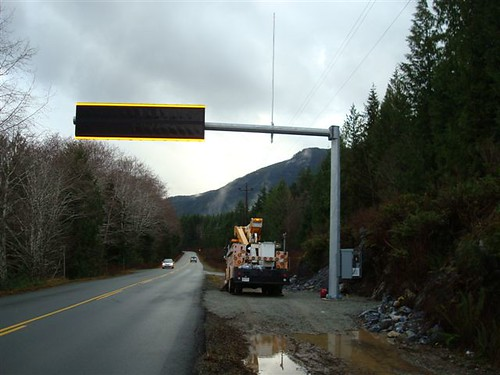 British Columbia's First State-of-the-Art Message Boards for Your Highway 4 Safety