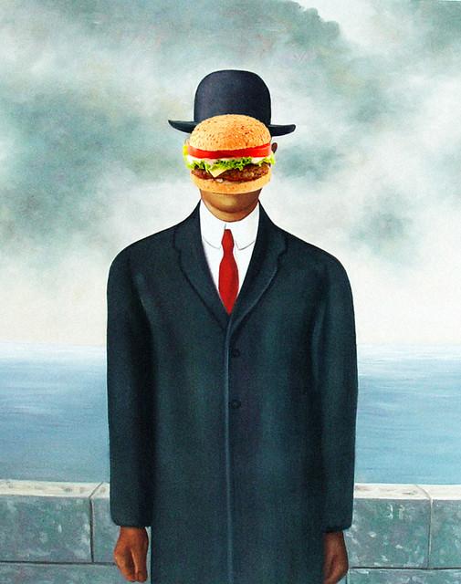 Burger Magritte