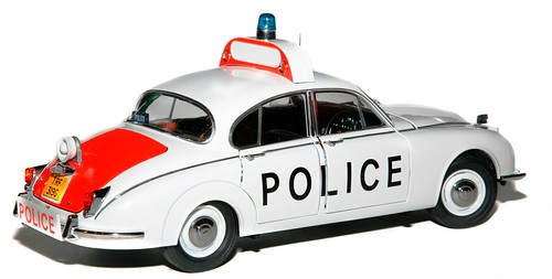 Model Icons Jaguar Police