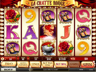 La Chatte Rouge slot game online review