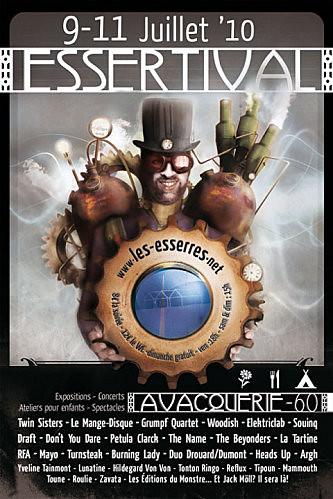 Affiche Essertival 2010