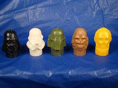 Star Wars Candy circa 1970's (Paratrooper Rocky) Tags: storm trooper vintage star candy head darth stuff boba wars vader chewbacca kitch c3po fett paratrooperrocky