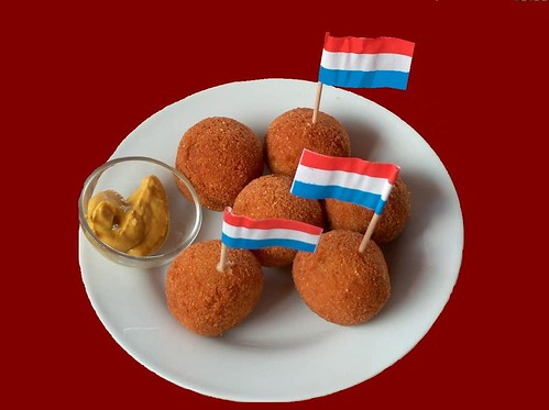 Bitterballen bij de Dutch club