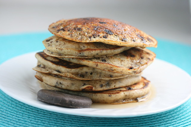 Thin Mint Pancakes