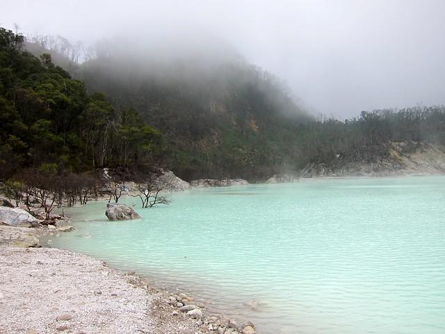 Kawah Putih Crater