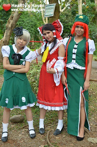 ecopark cosplayers