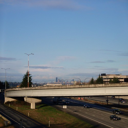 Seattle Skyline from Eastgate - Bellevue WA