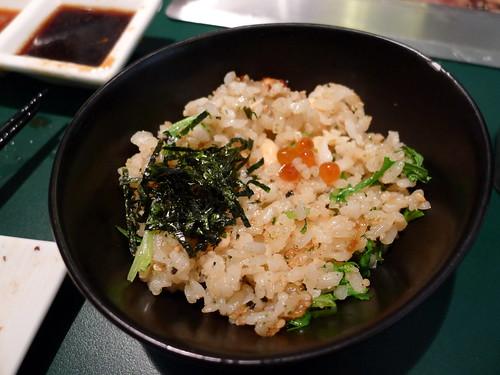 「原燒」- 鮭魚拌飯
