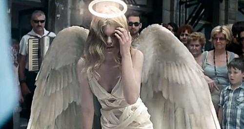 Даже ангелы осень