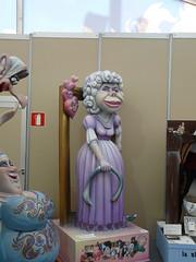 La Duquesa de Alba en las Fallas de Valencia 2...