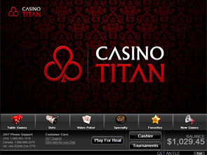 Titan Casino Lobby