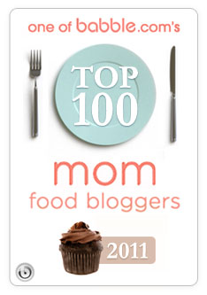 Daydreamer Desserts nominated one of the Top 100 Mom Food Blogs on babble.com